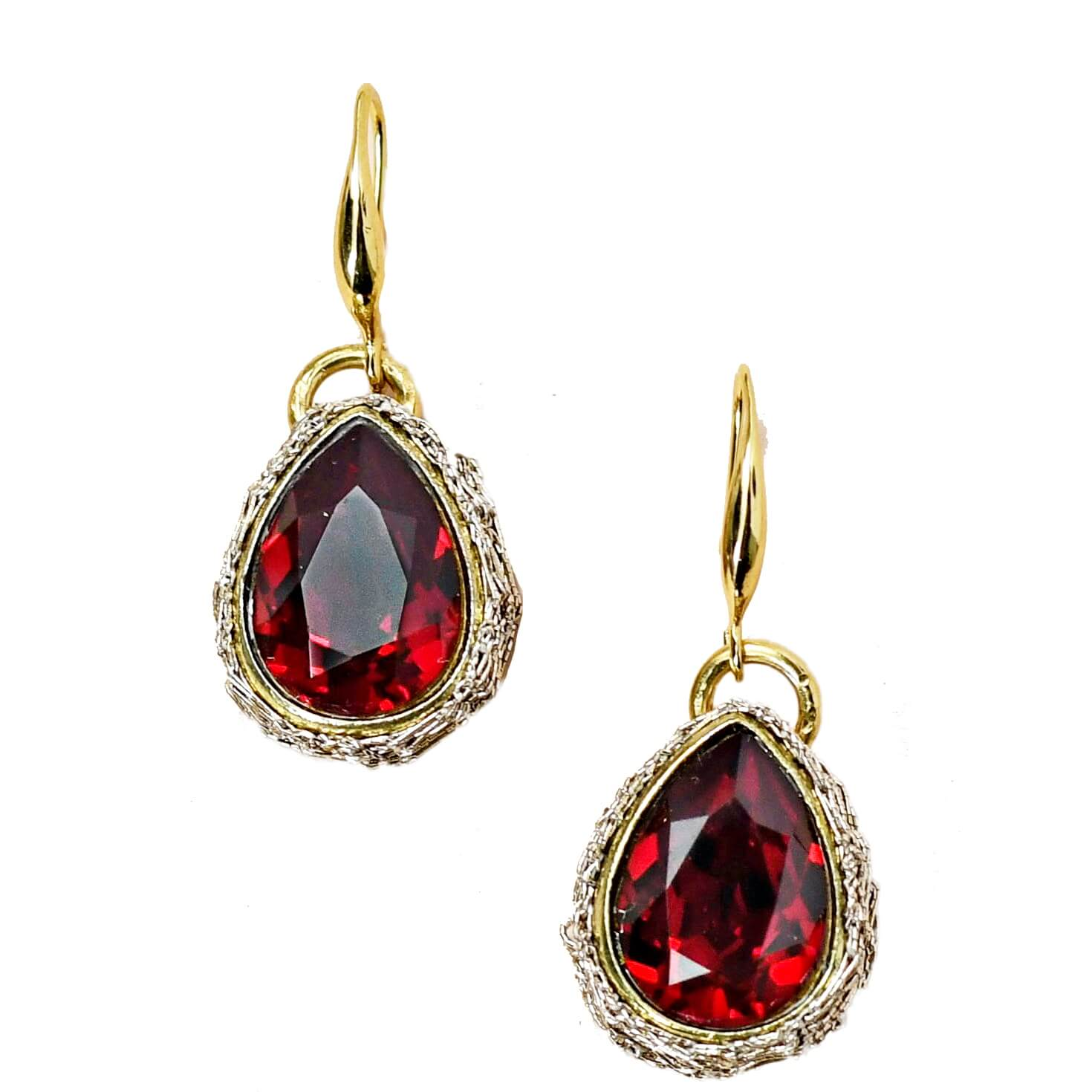 Lotty Garnet Earring- Garnet