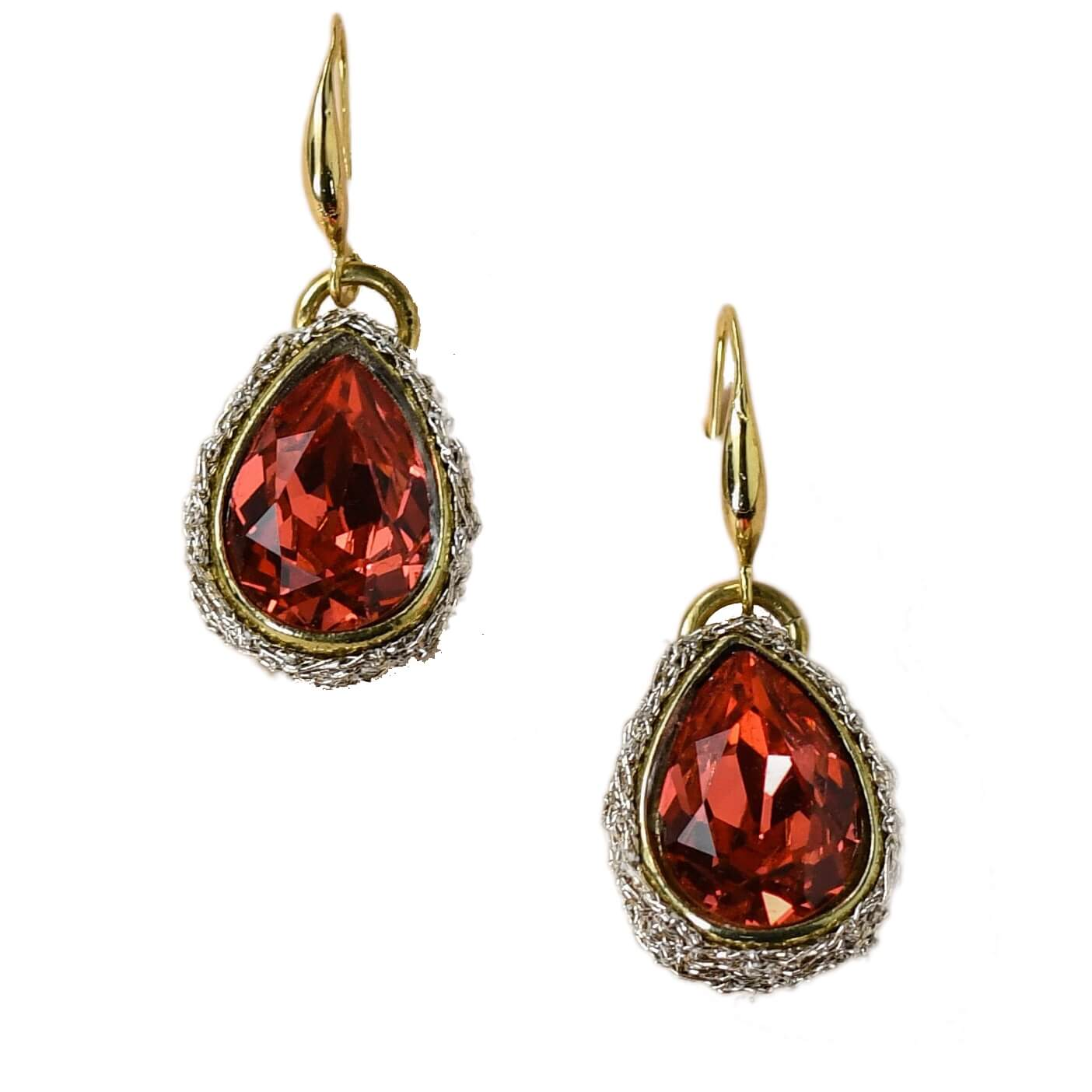 Lotty Padparadscha Earring- Ruby Rose