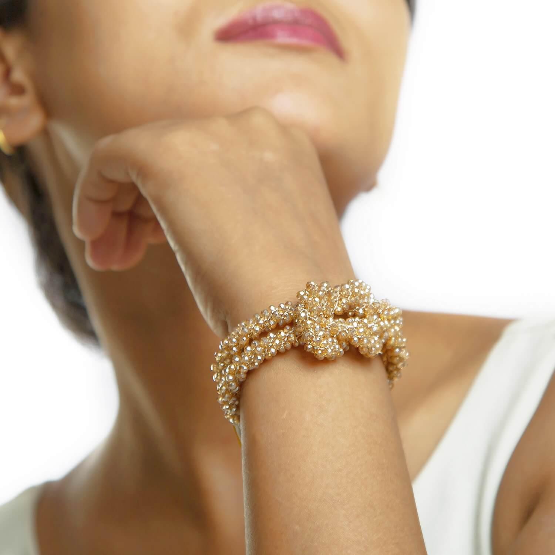 Claudia Gold Bracelet - Model
