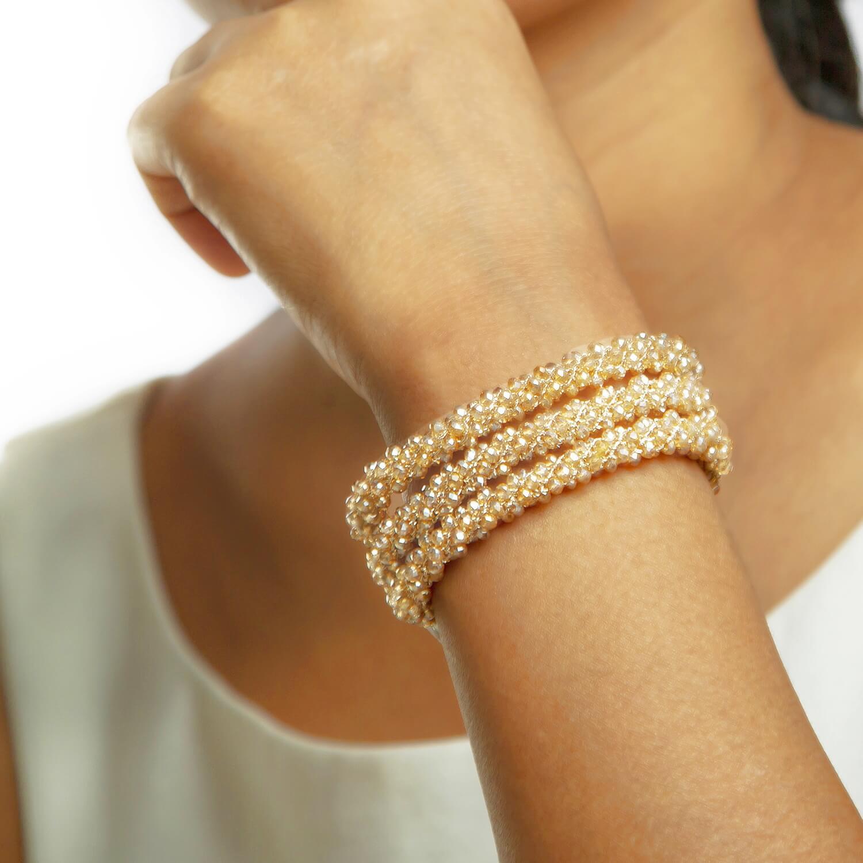 Eudora Gold Bracelet - Model