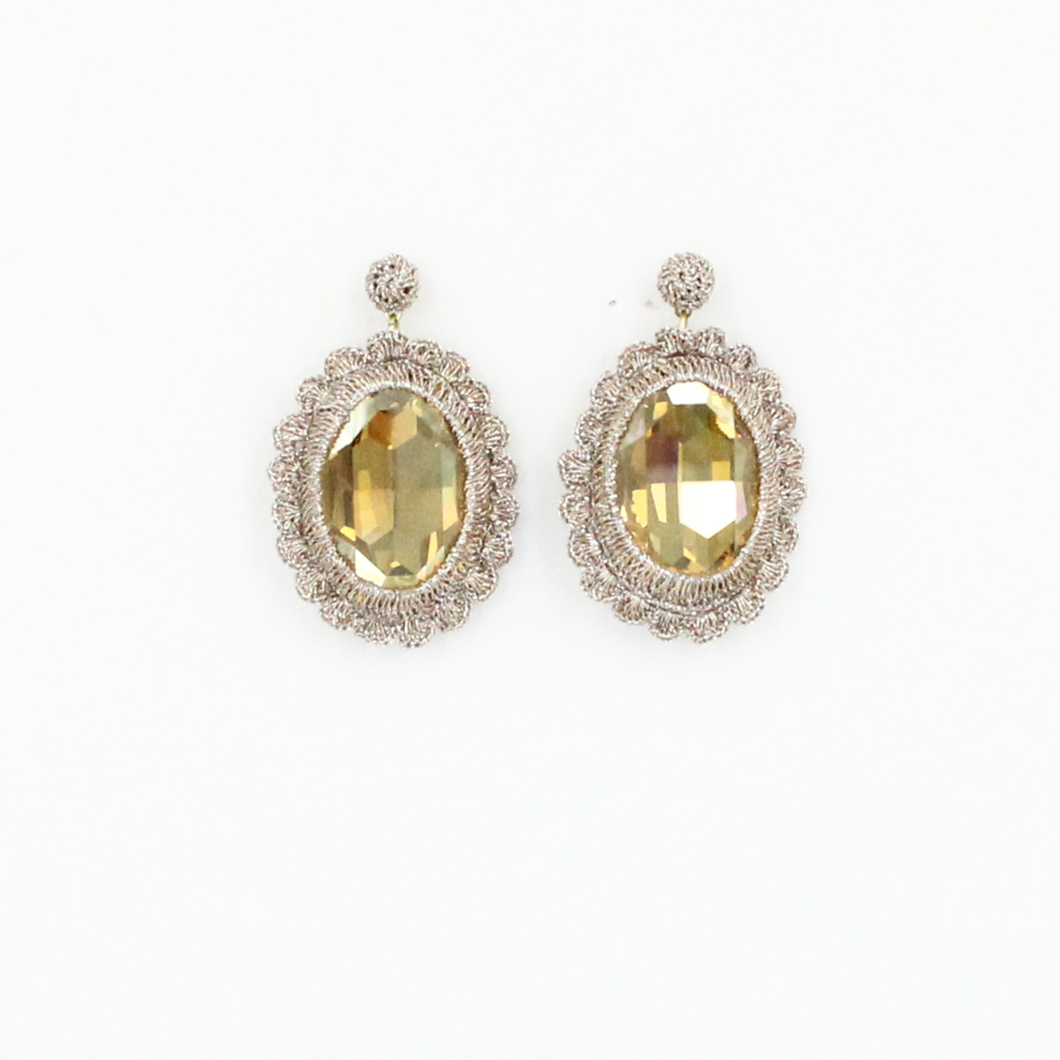 os earrings clique set color size gem french product wire