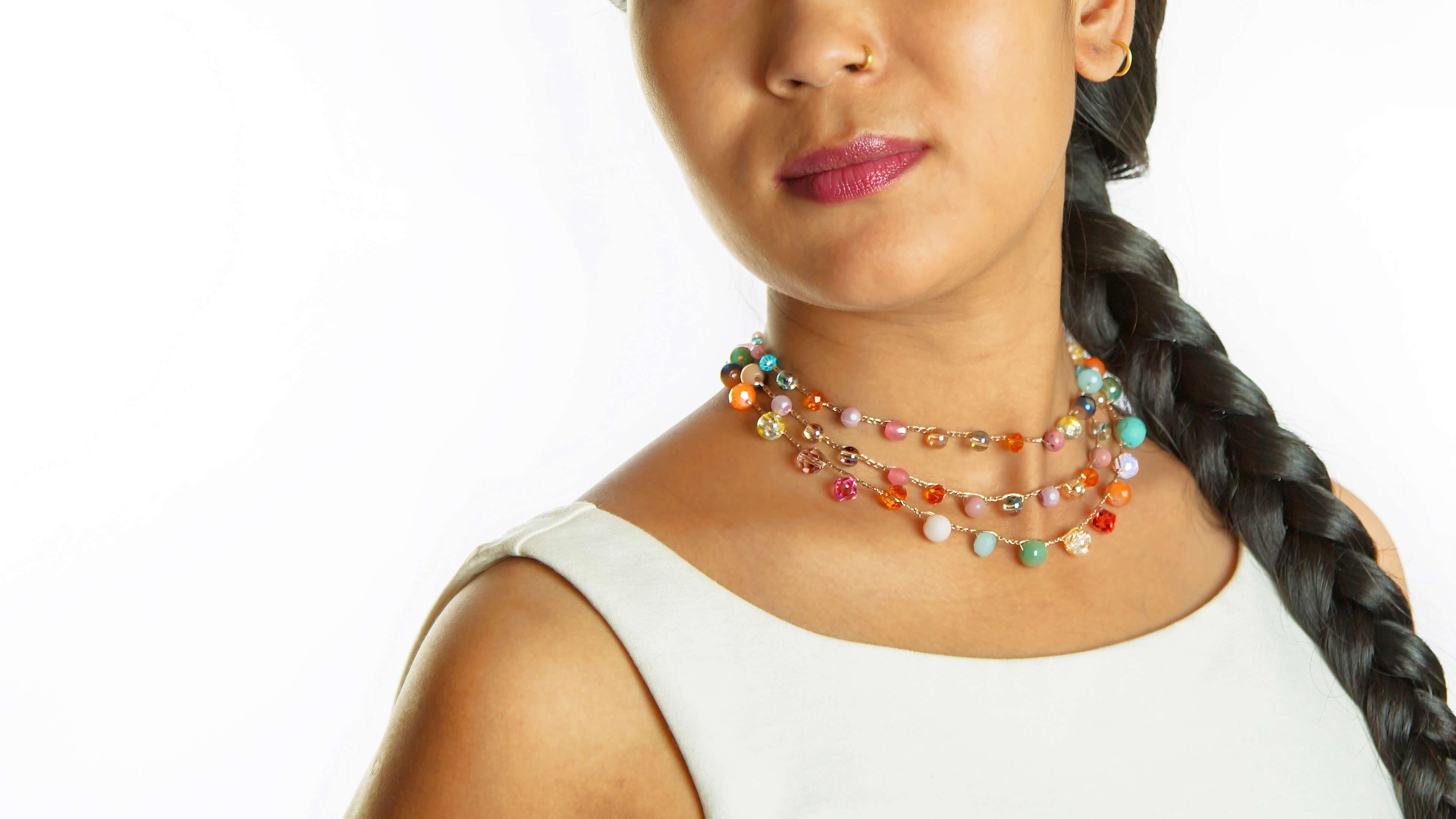 Bella Necklace - Model