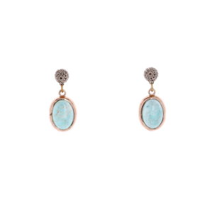 Nomad Turquoise Drop Earring