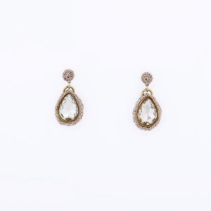 Venus Morning Dew Drop Earring - Clear