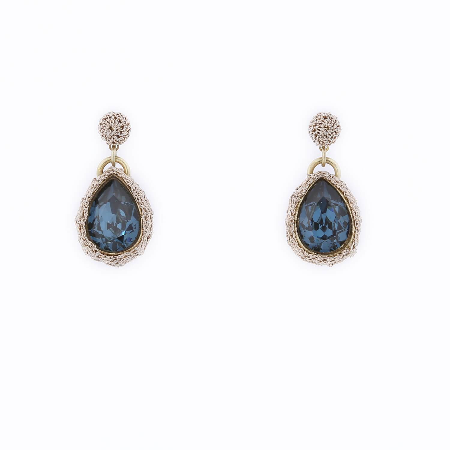 Venus Morning Dew Drop Earring - Sapphire