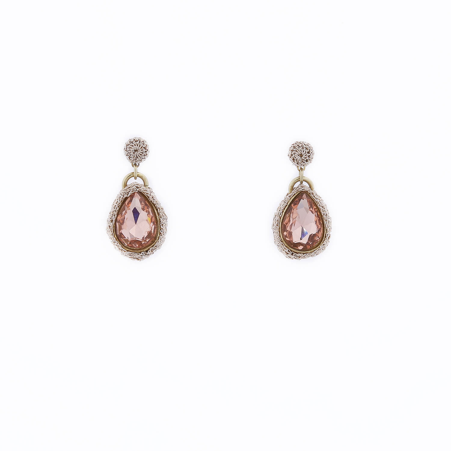 Venus Morning Dew Drop Earring - Blush