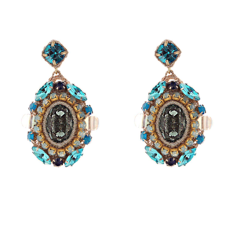 Isolde Aqua Earring- Aqua Montana