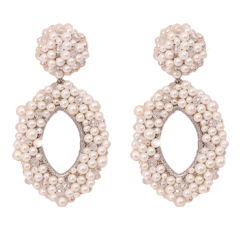 Talise Earring- Pearl