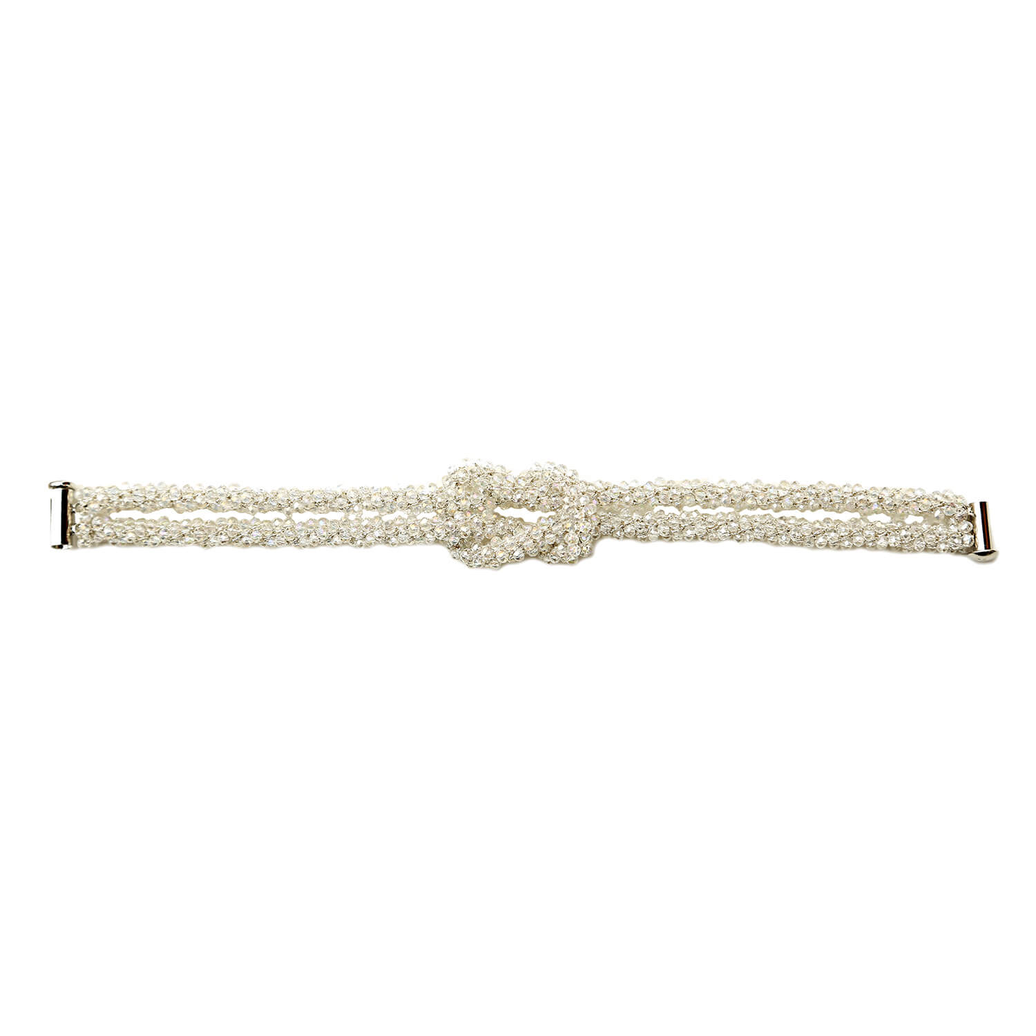 Claudia Crystal Bracelet- Clear