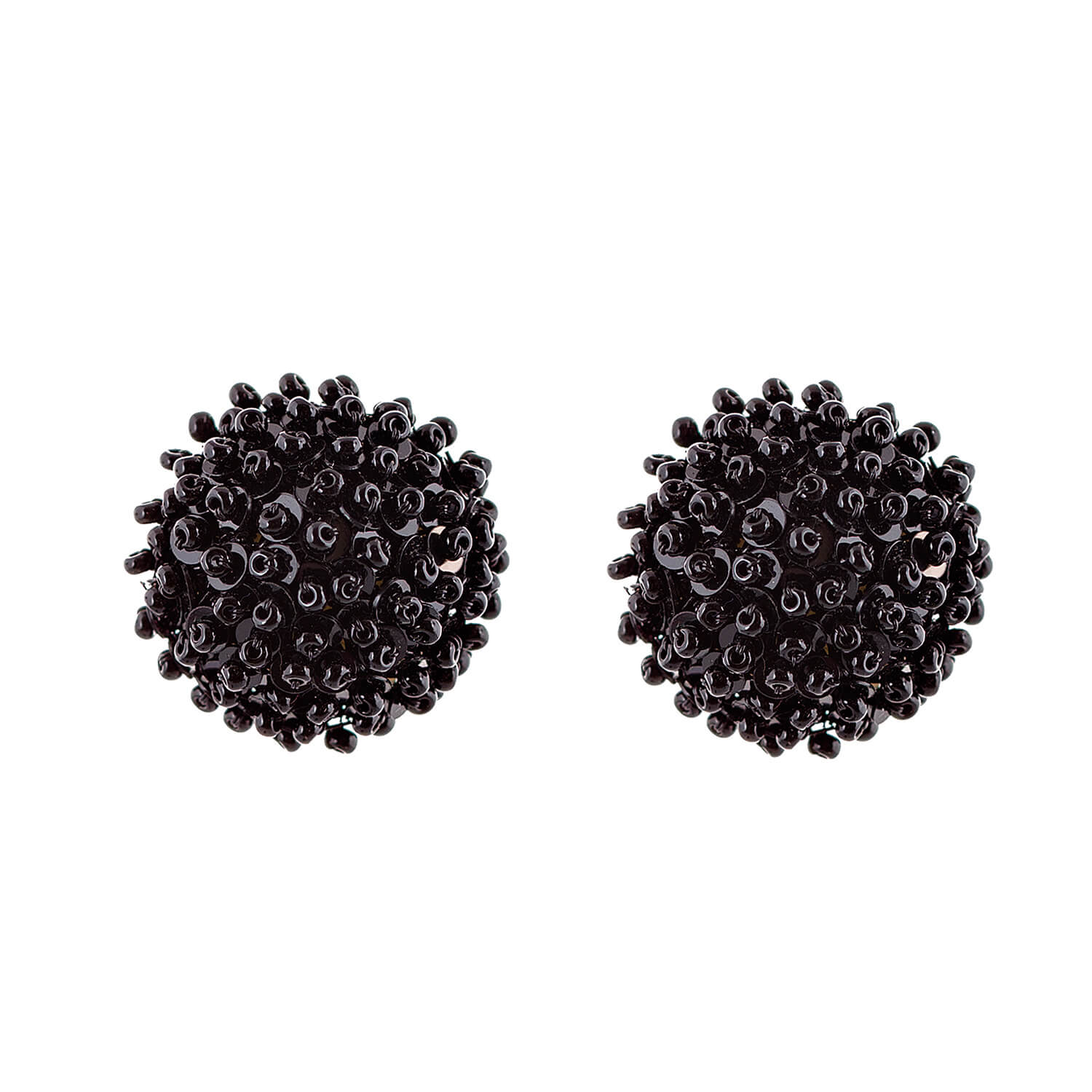 Gretchen Jet Earring- Jet Black