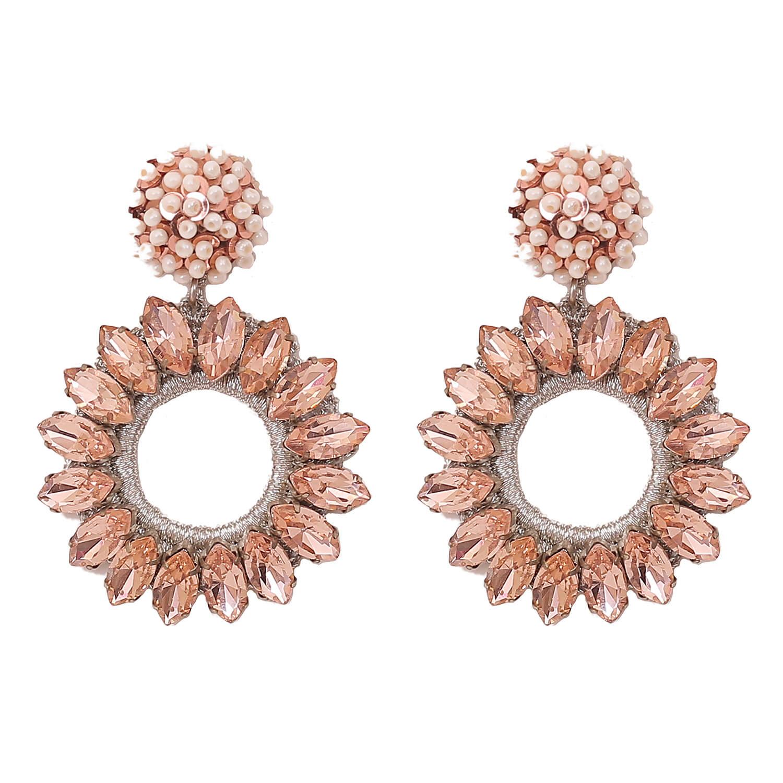 Lorelai Blush Earring- Blush Rose Pearl