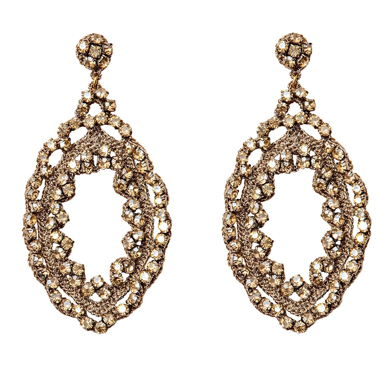 Freya Champagne Earring