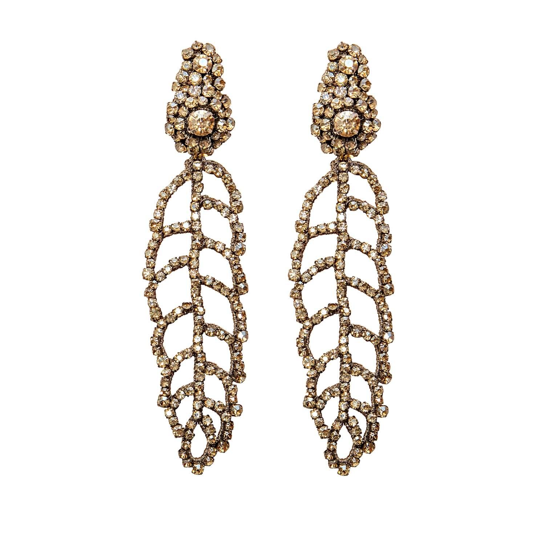 Electa Champagne Earring