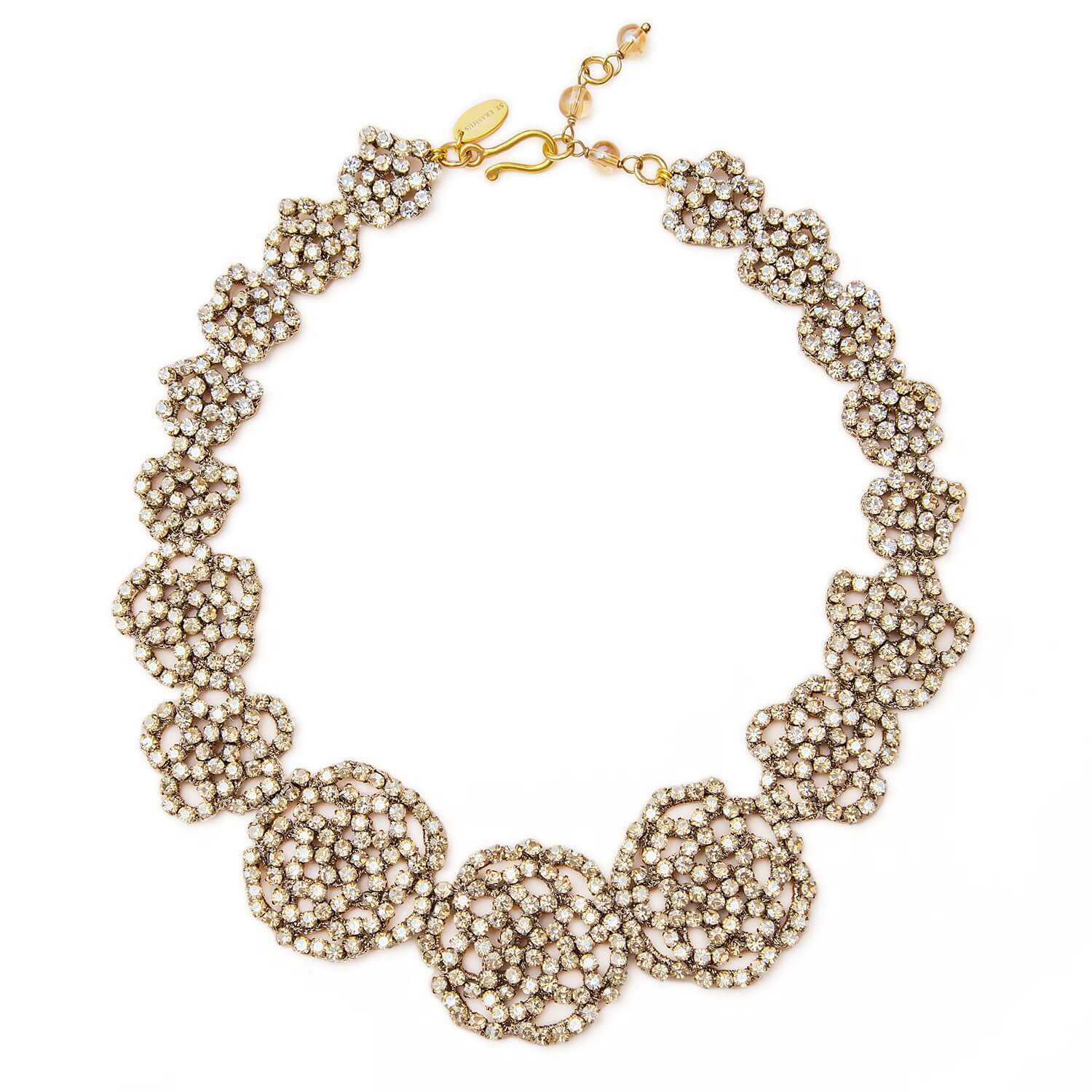 Elspeth Champagne Necklace