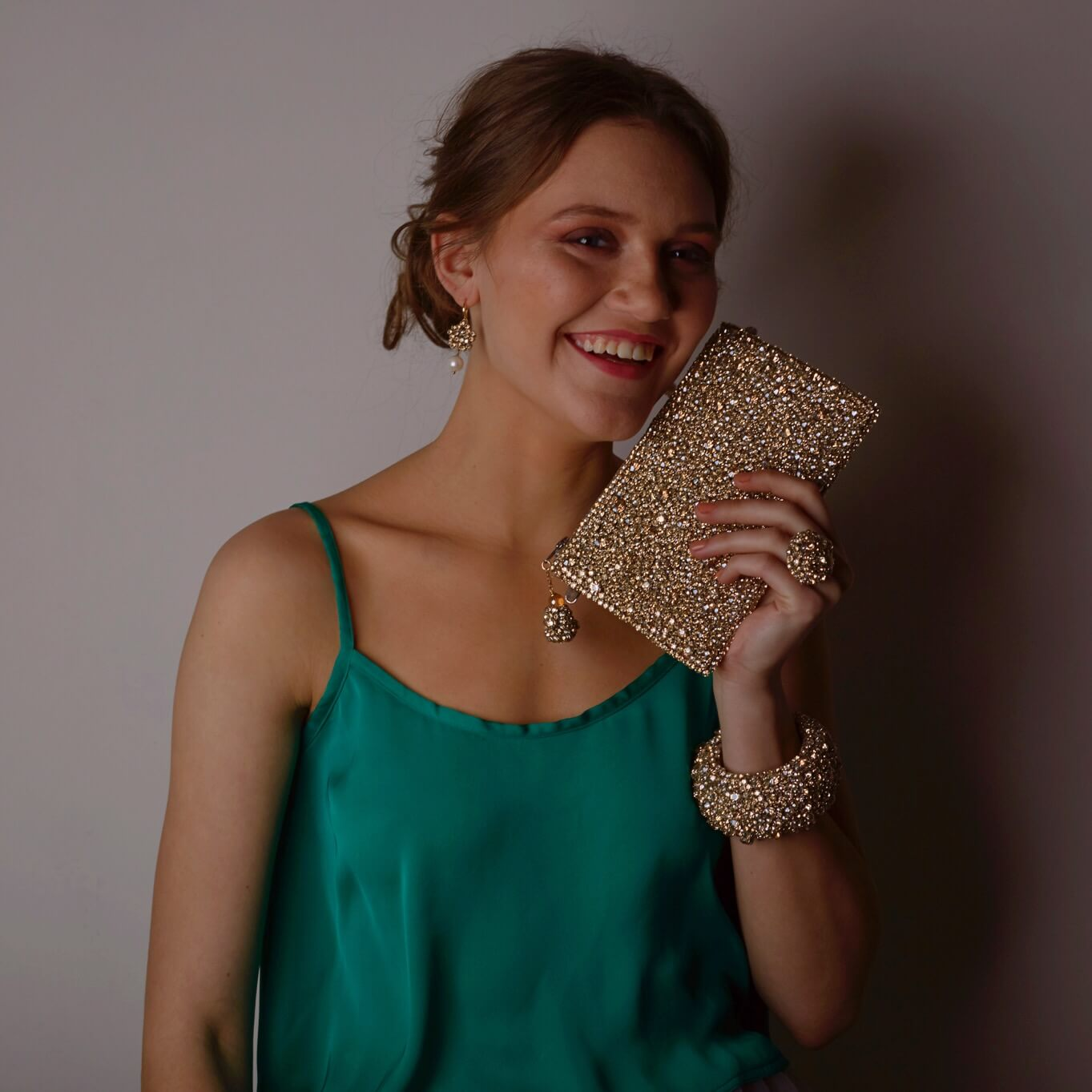 Jane Champagne Bracelet