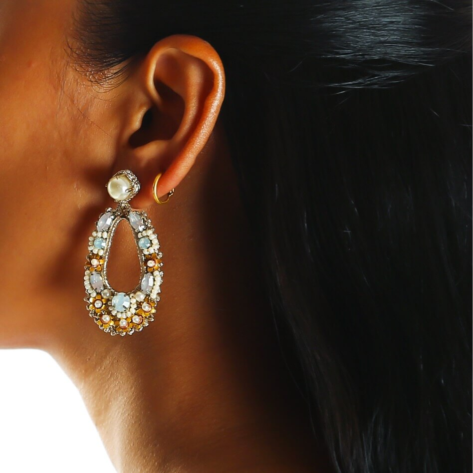 Natasha Blush Earring