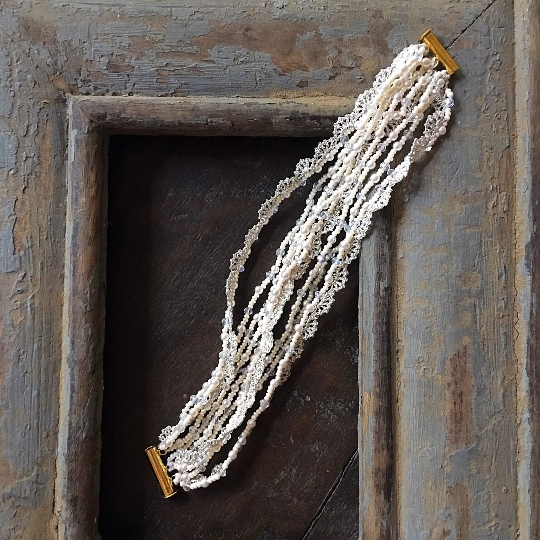 Adara Bracelet- Ivory