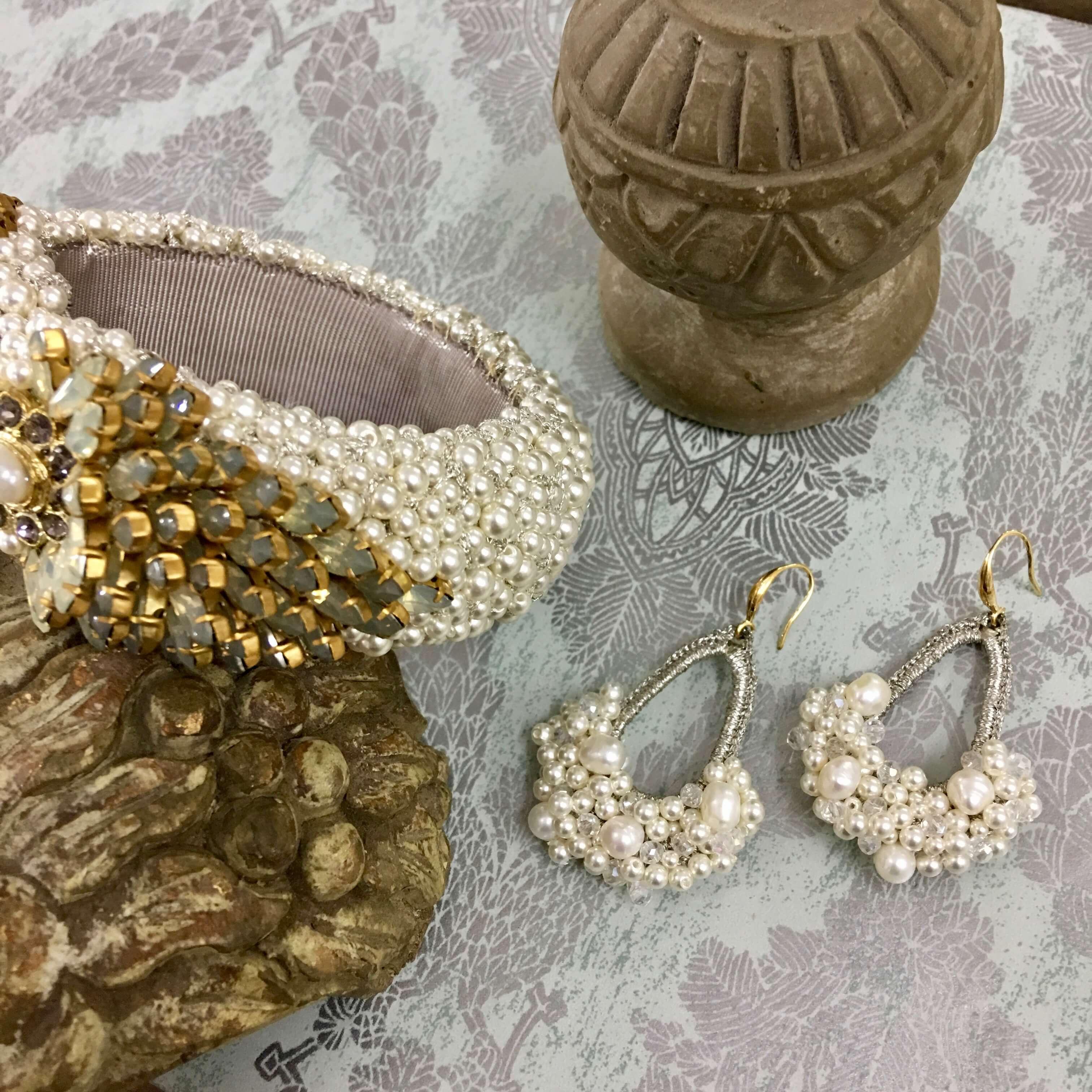 Opal Blossom Bracelet- Opal Pearl