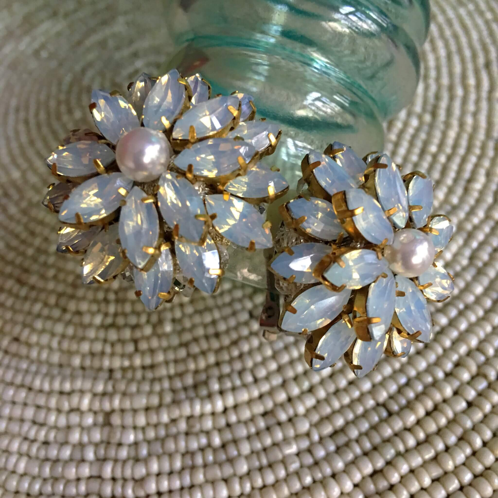 Wild Blossom Opalised Earring
