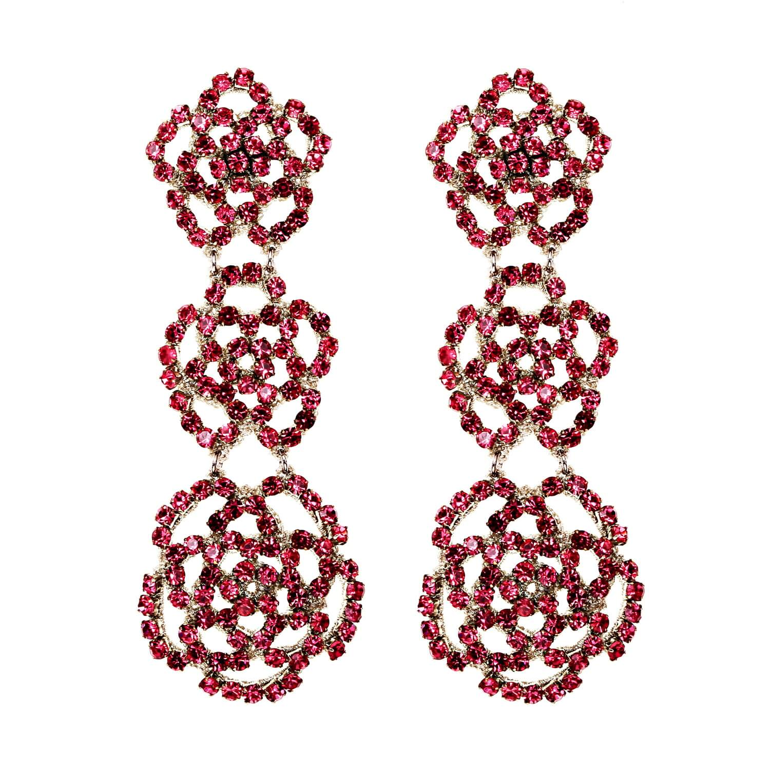Bonita Rose Earring