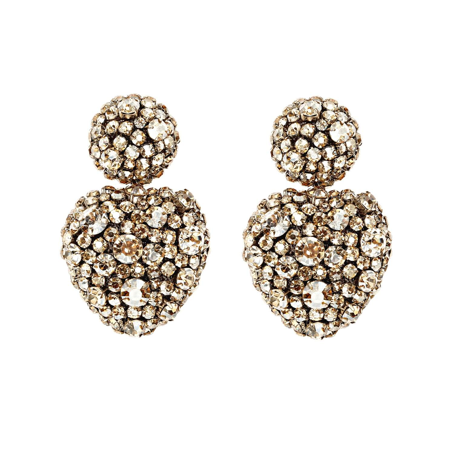 Lucy Champagne Earring