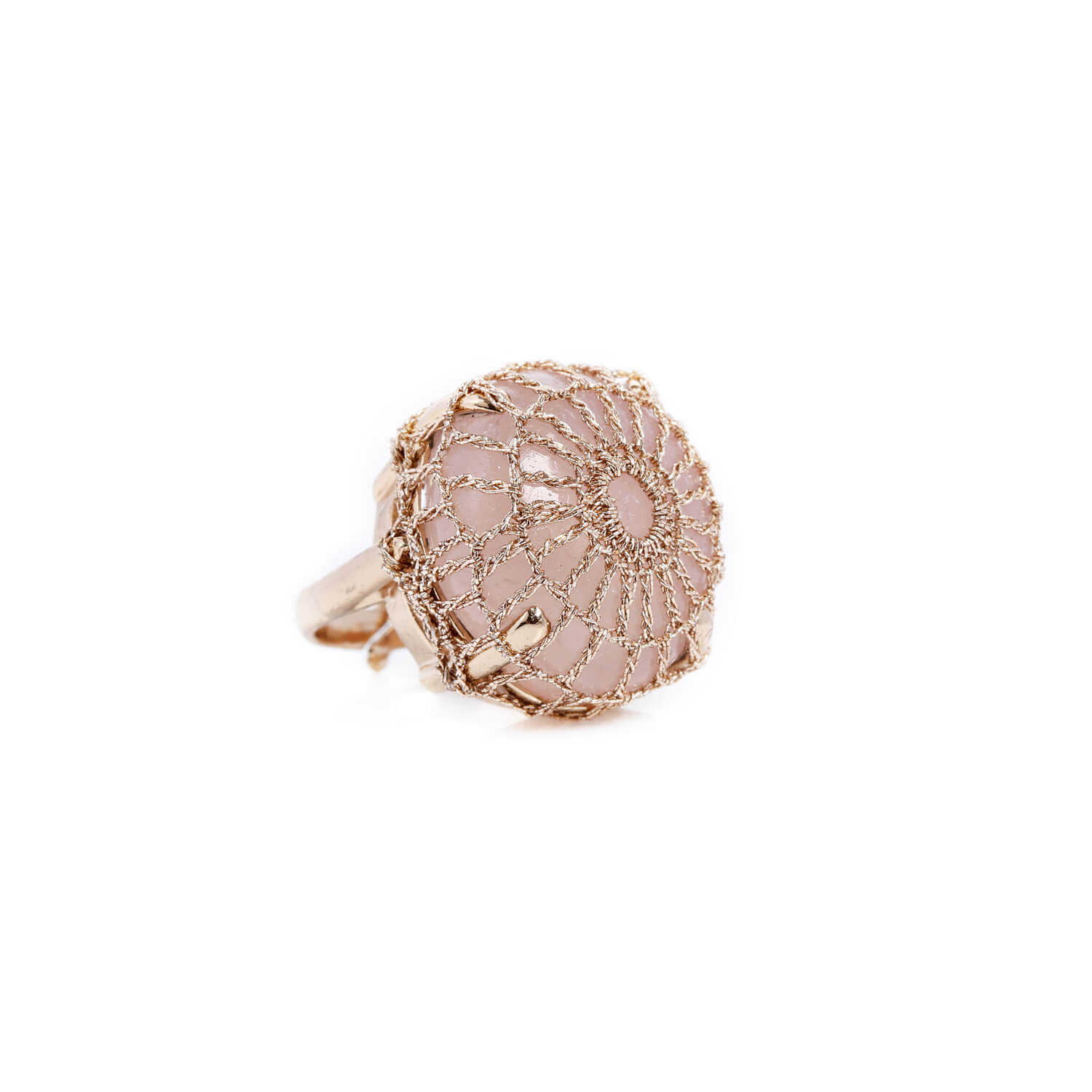 Nomad Rose Cocktail Ring