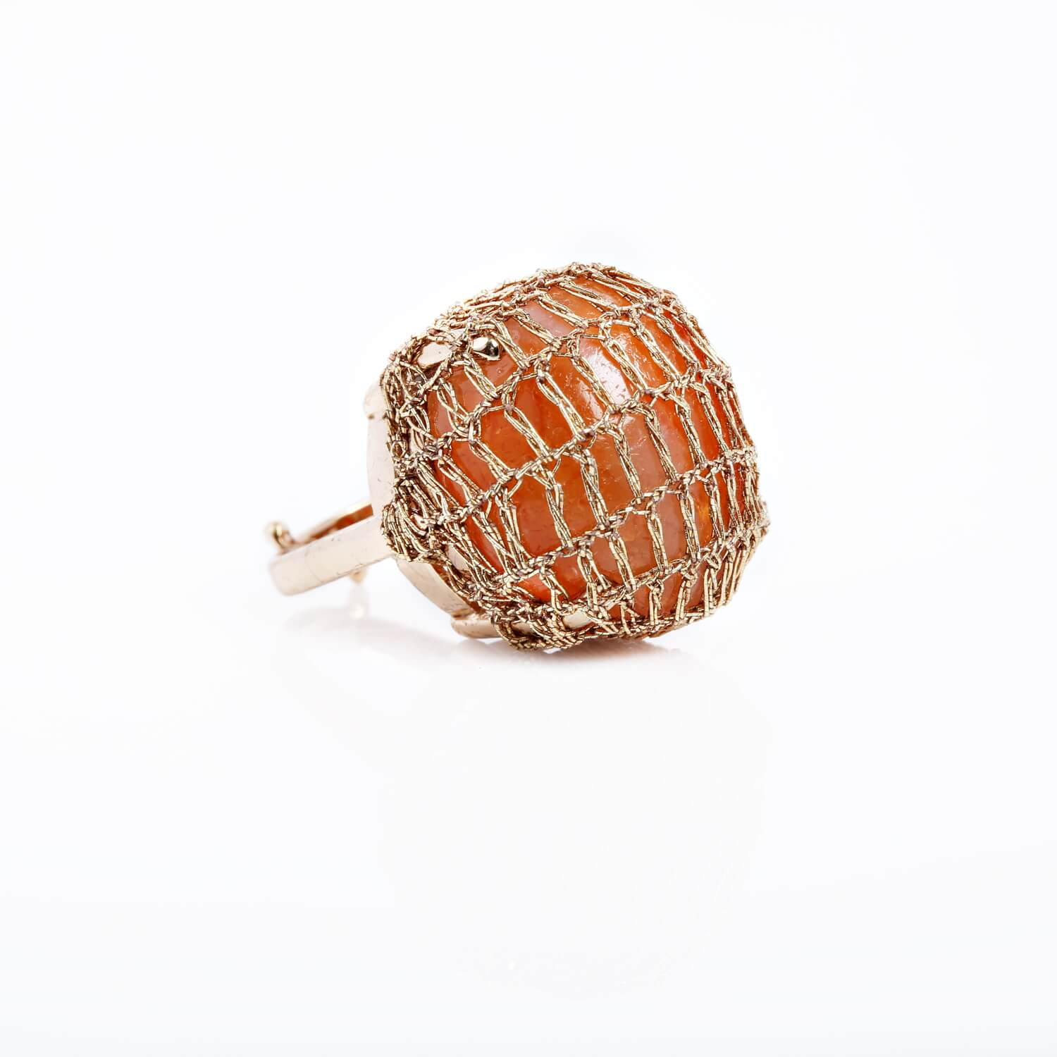 Nomad Rouge Cocktail Ring